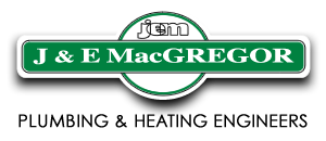 J & E MacGregor Plumbing & Heating Engineers logo